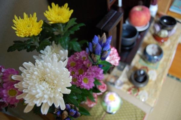 お盆 お供え 花